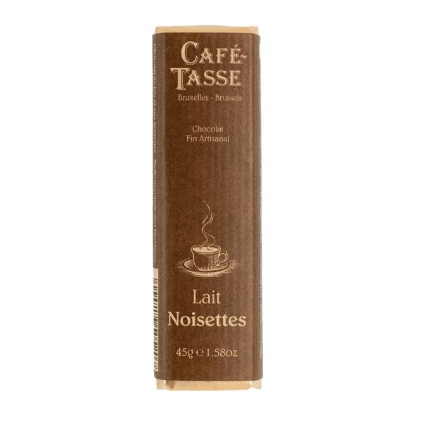 Café-Tasse белгийски шоколад-млечен с лешници